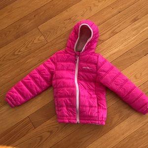 Girls Eddie Bauer lightweight puffer jacket